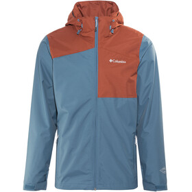 Columbia Aravis Expl**** Interchange Jacket Men Blue Heron/Rusty
